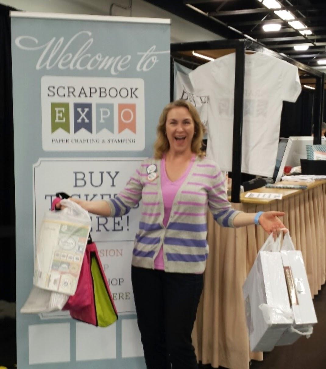 Scrapbook Expo Scrapbooking Sue
