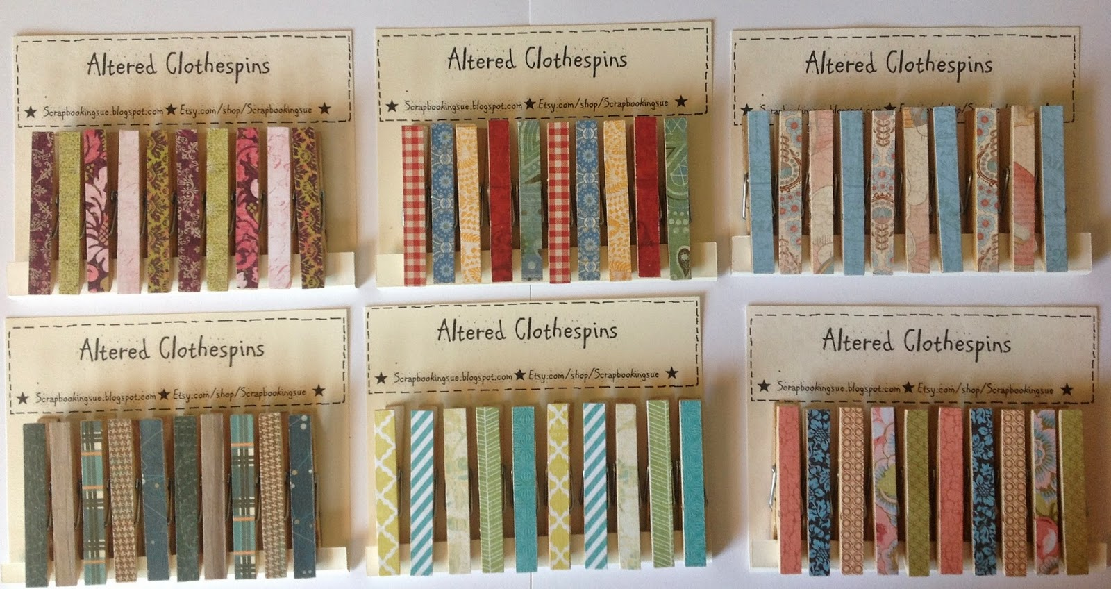 I have been on a clothespin kick lately. Not for laundry, but for crafty,  decorating ideas. Pretty little clothespins are great for clipping up  pictures to ...