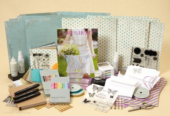 close to my heart new consultant cardmakers kit