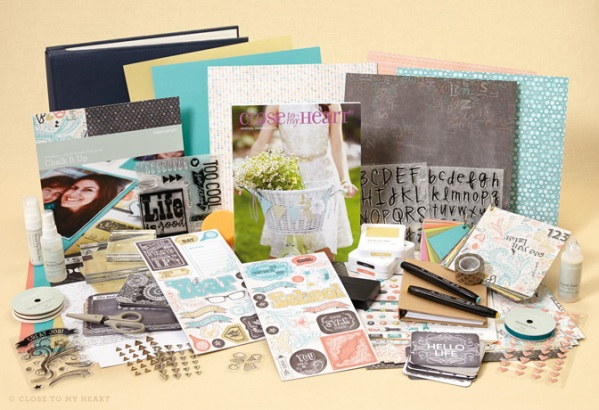 close to my heart new consultant scrapbookers kit