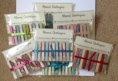 Altered Clothespins