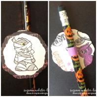 Halloween pencils 5