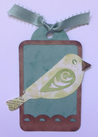 Skylark bird tag 1