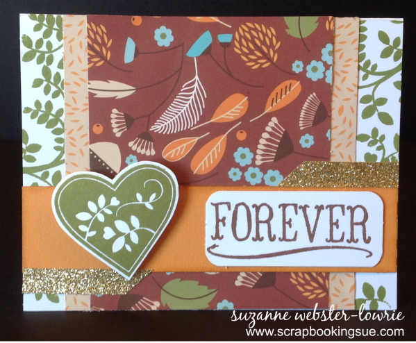 CTMH September Stamp of the Month Family is Forever