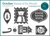 close to my heart ctmh october stamp of the month home for the holidays
