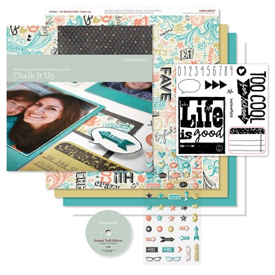 Close To My Heart CTMH Chalk It Up workshop on the go scrapbooking kit