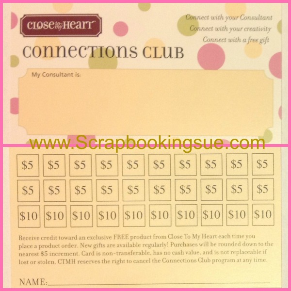 Connections club card 4