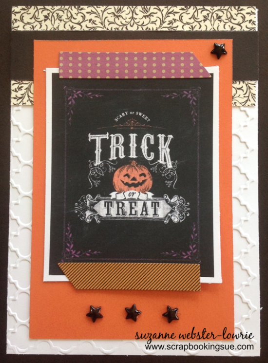 close to my heart (CTMH) trick or treat halloween free printable