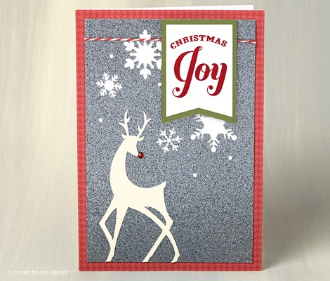 Close To My Heart (CTMH) Cut Above Christmas Card Kit