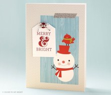 close to my heart ctmh cut above holiday card kit