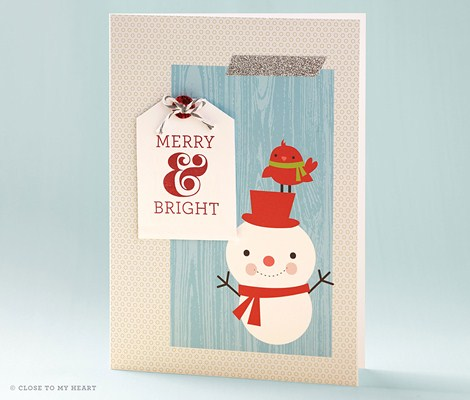 Close To My Heart (CTMH) Cut Above Holiday Card Kit