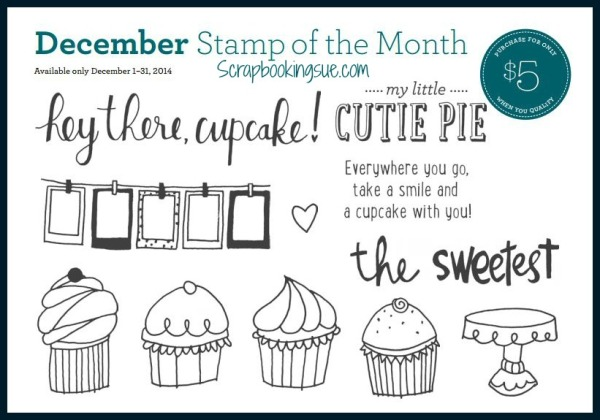 close to my heart ctmh december stamp of the month set