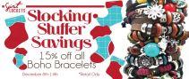 15% Off BOHO Bracelets!