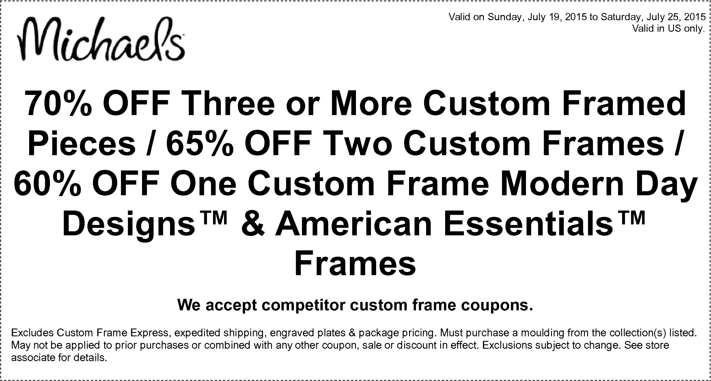 Awesome American Frame Coupon Collection - Framed Art Ideas ...