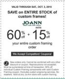joann coupon september 2015