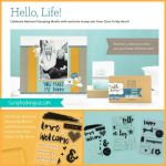 ctmh hello life stamp sets