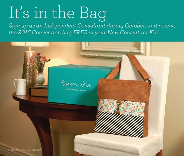 close to my heart ctmh october free bag