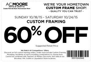 ac moore coupon october