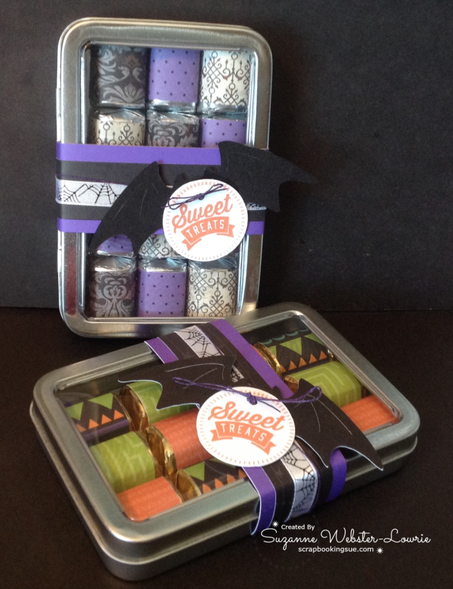 CTMH Halloween Nugget Tins