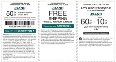 joann coupon october 2015