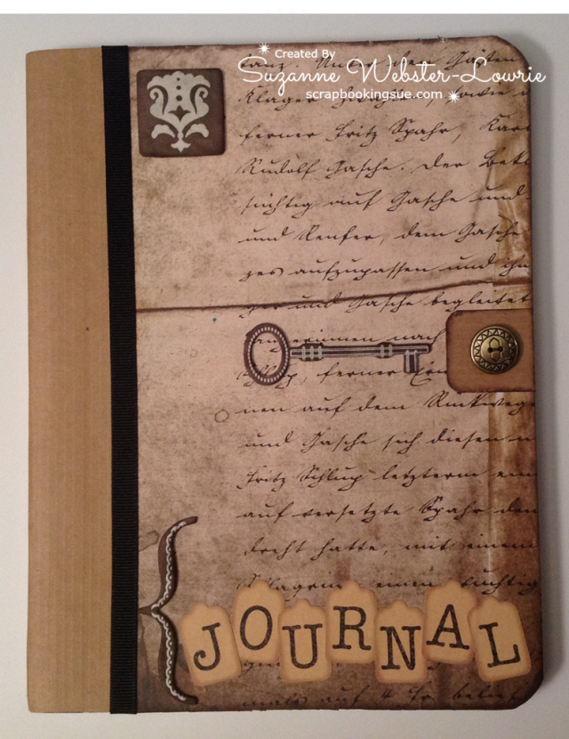 Altered Vintage Journals