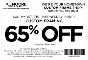ac moore coupon november