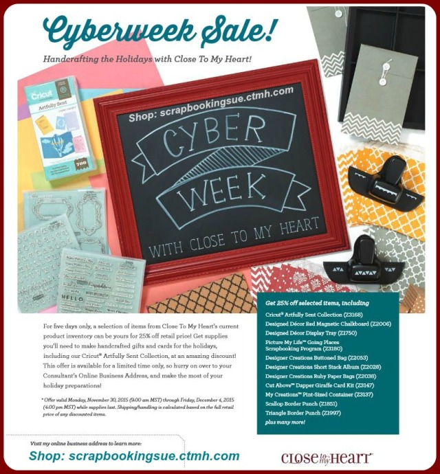 CTMH Cyber Week Sale