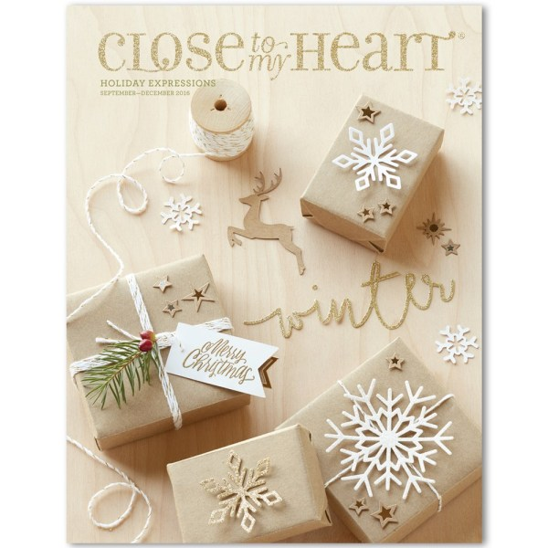 CTMH Holiday Expressions 2016 Idea Book
