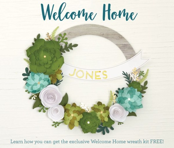 CTMH Welcome Home Wreath Kit