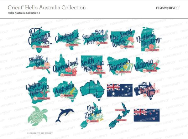 CTMH Cricut Australia/New Zealand Collection