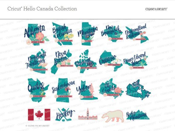 CTMH Cricut Hello Canada