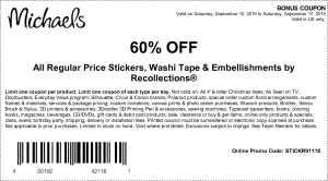 Michaels September coupon