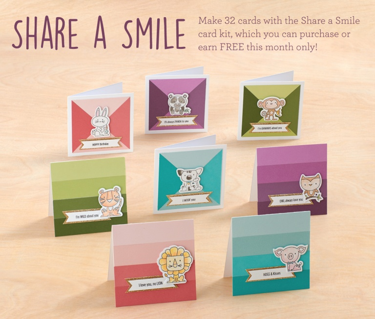 CTMH Share A Smile Promotion