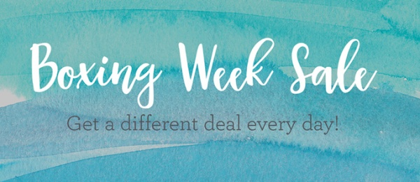 CTMH Boxing Week Sale!