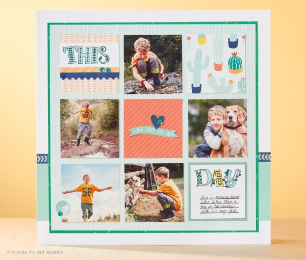 Ctmh July Stamp Of The Month Storybook Alphabet Scrapbooking Sue