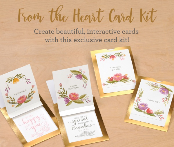 CTMH From the Heart Cardmaking Kit