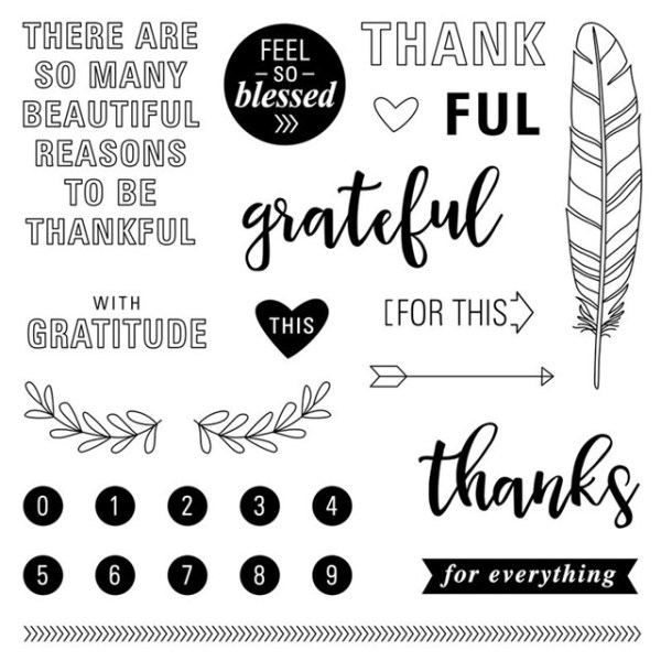CTMH September Stamp of the Month: Feel so Blessed