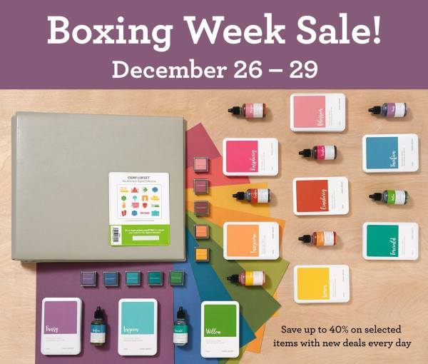 CTMH Boxing Week Savings!
